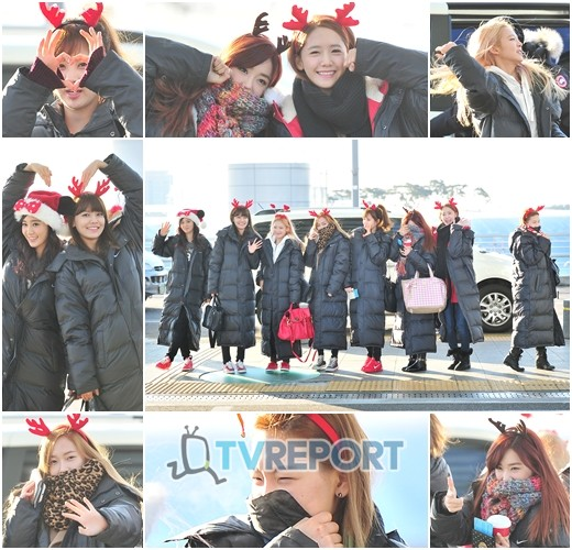 "SNSD Style ""Christmas Airport"" PICTURE"