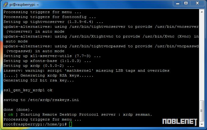 Cara Meremote Raspberry Pi Menggunakan Remote Desktop Connection ...
