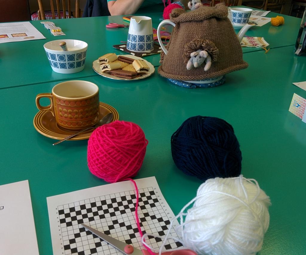Knitting Yarn Bdo : Louise dawson design fair isle and intarsia workshop at