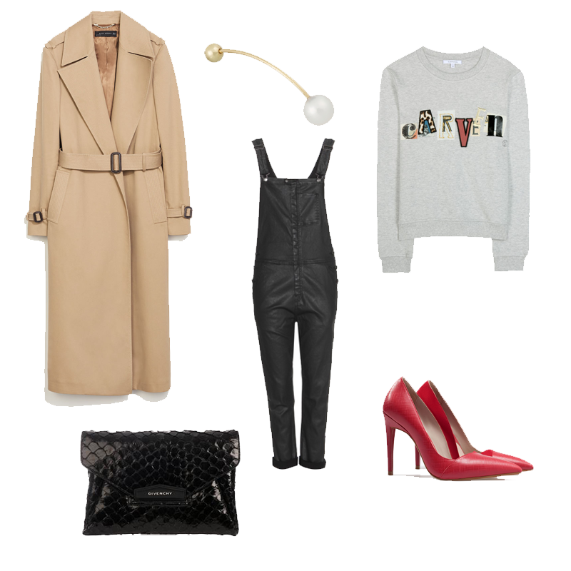 zara, sophie brille brahe, current elliott, carven, givenchy, wishlist, outfit