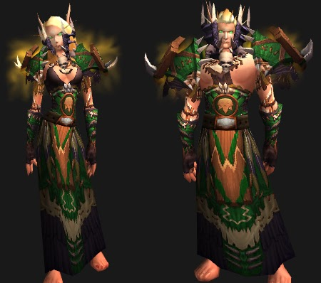 Nescas Nook Wow Cloth Transmog