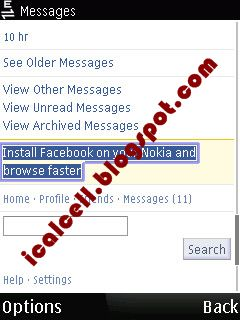 Facebook Mobile - Link Download