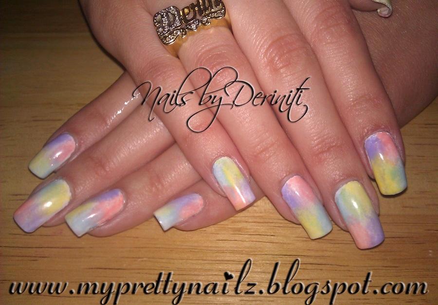 My Pretty Nailz: 4 Color Instant Ombre Sponge Gradient Nail Art ...