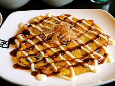 Okonomiyaki at Gyu-Kaku Queenstown