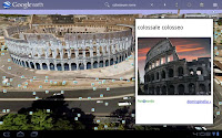 Google Earth for Android Tablet
