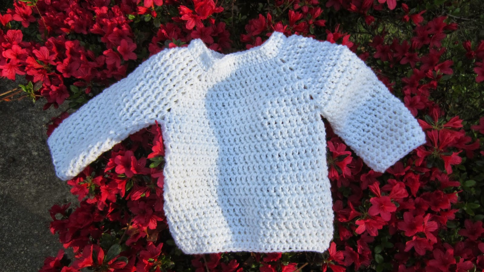 Free Crochet Pattern Toddler Pullover : Olenas Crafts: Finished Crochet Baby Pullover - Free ...