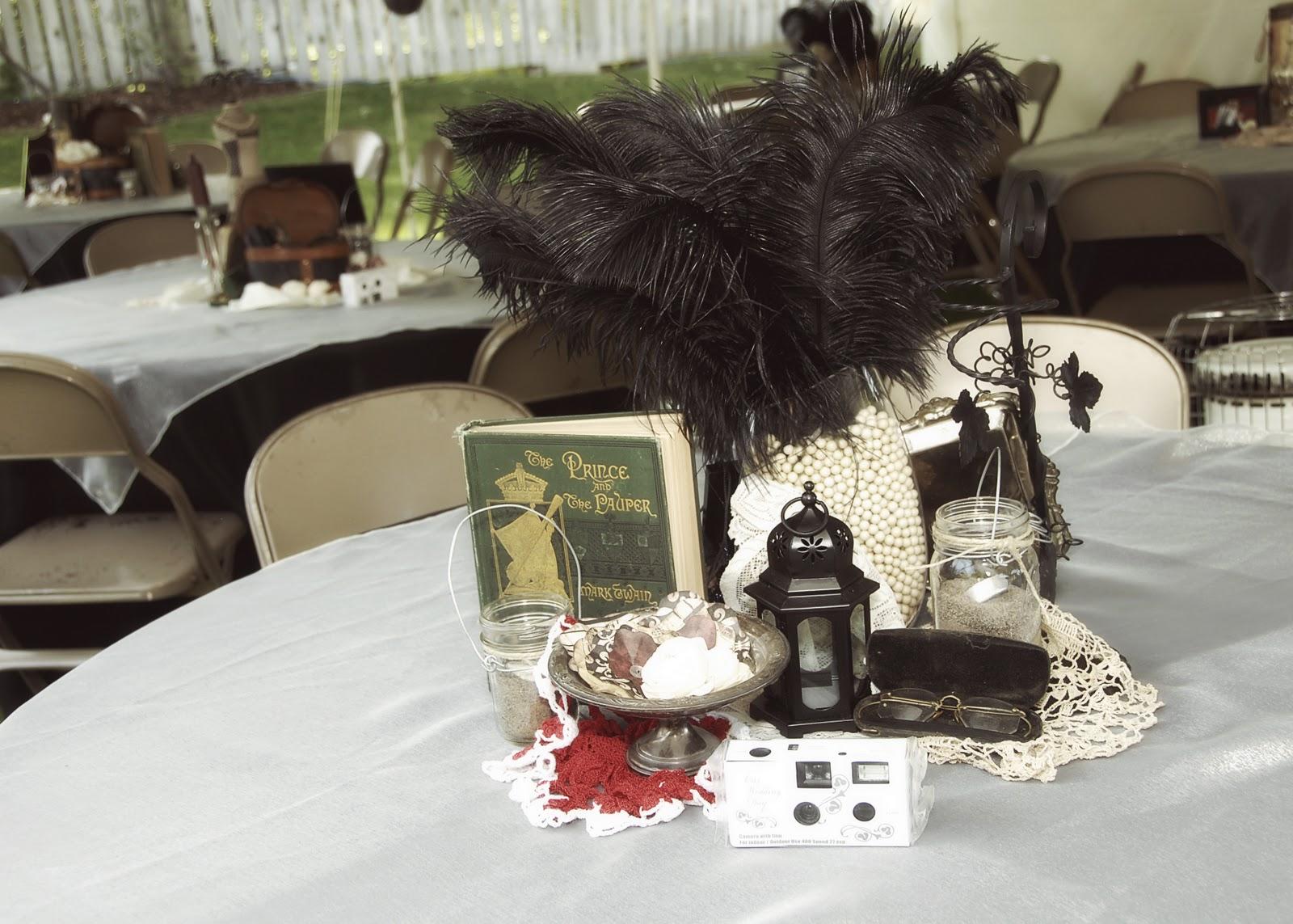 Sweet georgia brown s weddings vintage wedding centrepieces