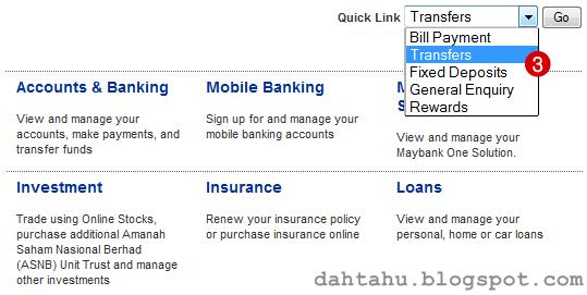 Maybank2u Maybank Transfer ke Tabung Haji 2-3