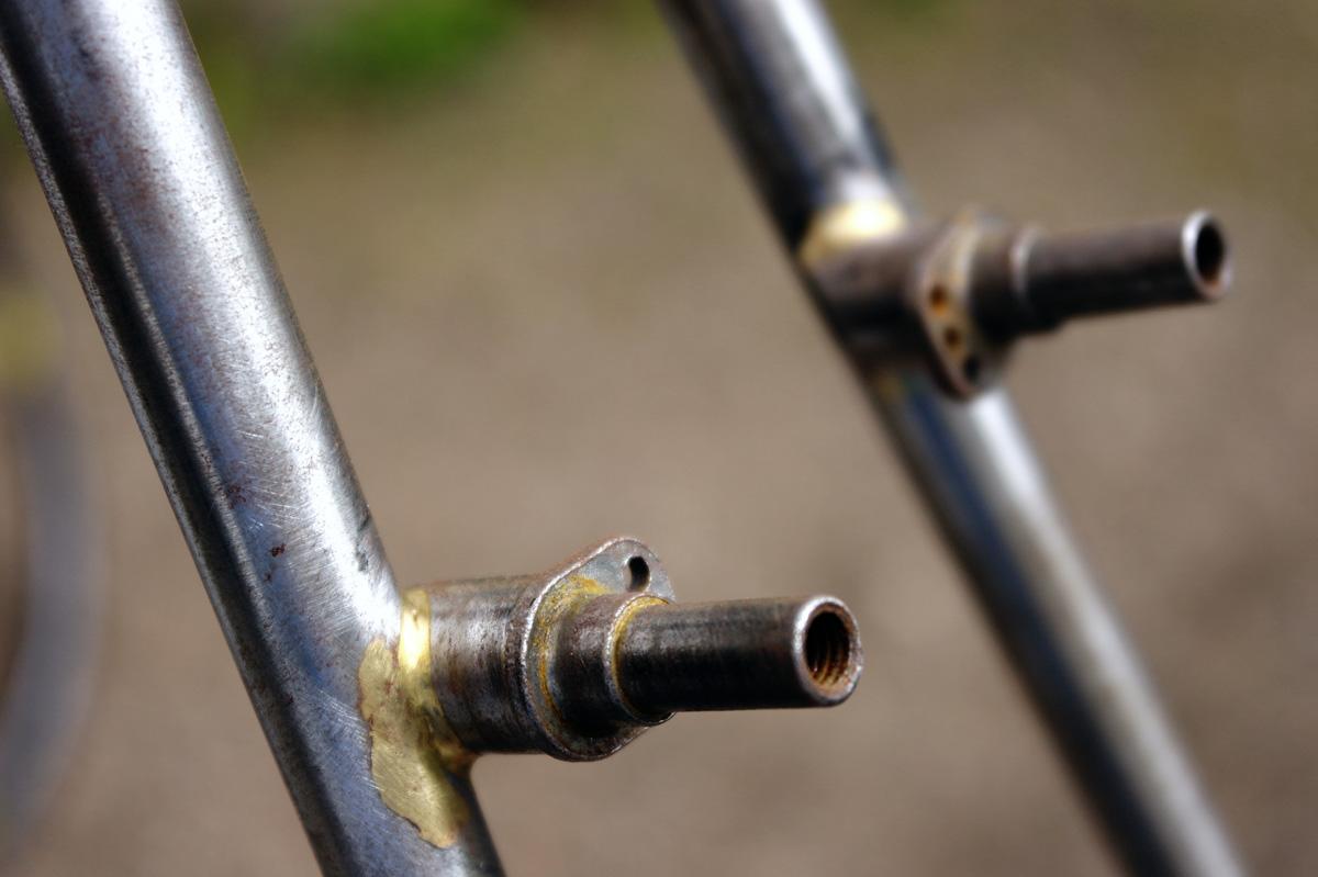 Gregory Handbuilt Custom Bicycle Frames