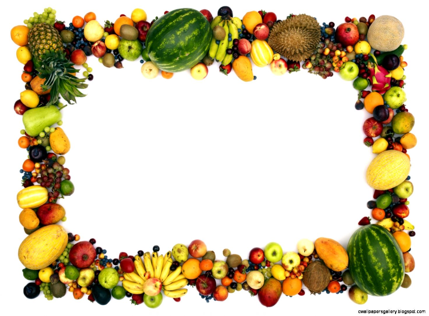Vegetable Garden Clipart Border