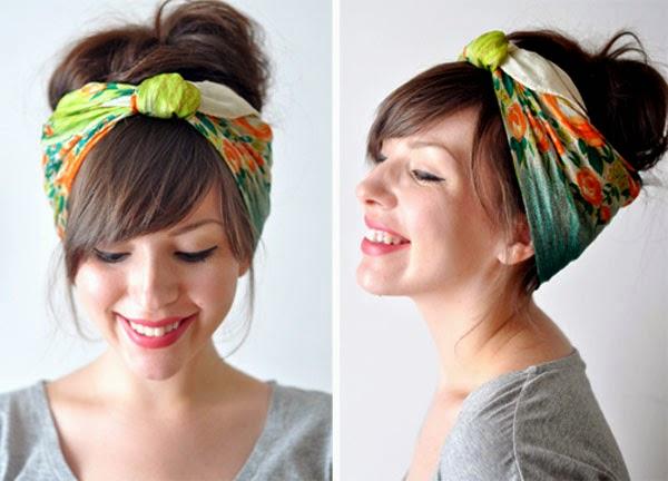 Percantik Rambut Pendek dengan Aksesoris