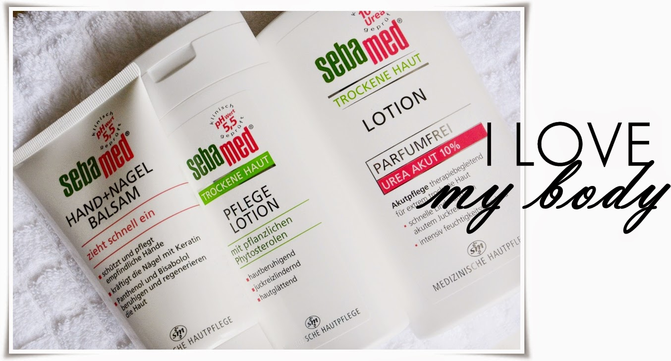Body care, dry skin care, SebaMed Körperpflege