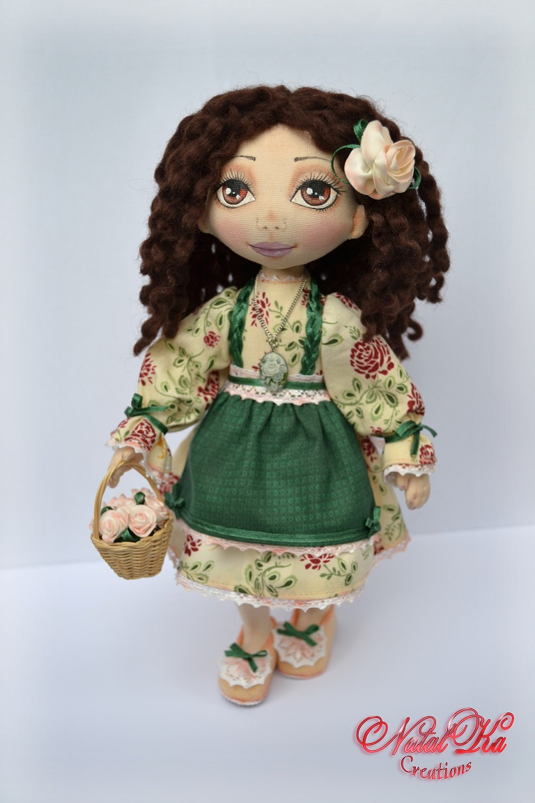 Авторская кукла. Rag art doll