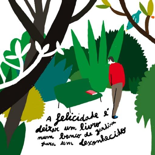 Ilustrada por Bernardo Carvalho