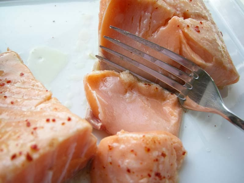 Lachs, supersaftig