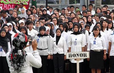 Honorer K2 Siap Gajinya Dibayar Belakangan