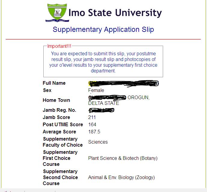supplementary application university of toronto