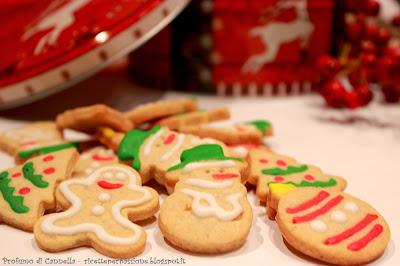 biscotti di natale - zenzero, cannella e chiodi di garofano