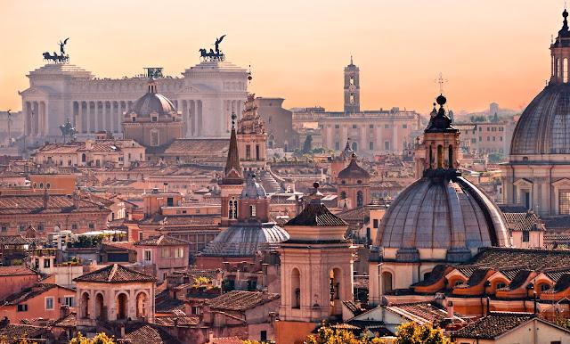 Viajar de trem de Paris a Roma