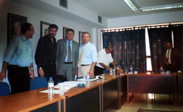 Στα γραφεία της Διοικούσας της Νομαρχιακής Θεσσαλονίκης με τον Περιφερειάρχη Κεντρικής Μακεδονίας