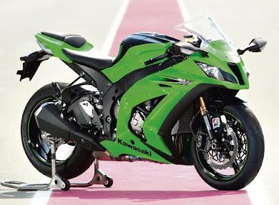 Istimewanya Kawasaki ZX Pengambangan Motor Baru