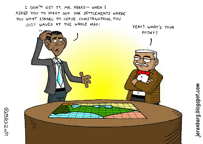 abbas obama map israel on table settlements wave all of it construction freeze point