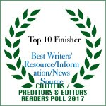 TOP 10 FINISHER BEST WRITERS' RESOURCE / INFORMATION / NEWS SOURCE