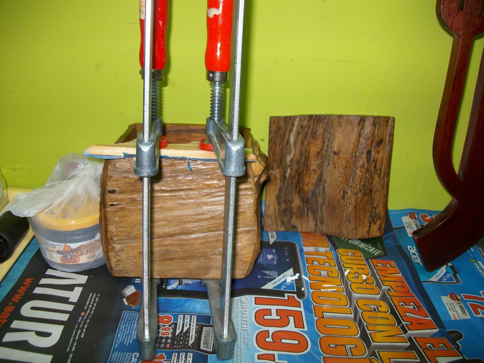 Restauraci n el palisandro restauraci n caja de madera - Masillas para madera ...