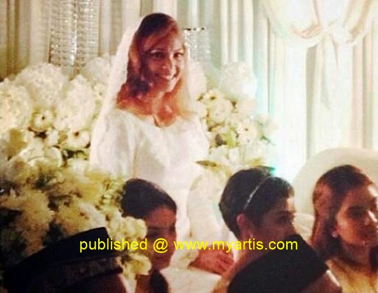 Azura zainal wedding