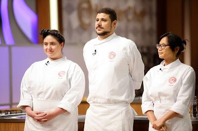 Izabel, Raul e Jiang são os semifinalistas da segunda temporada do MasterChef - Divulgação/Band