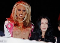 RuPaul and Cher