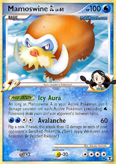 Mamoswine Pokemon Card Rising Rivals set