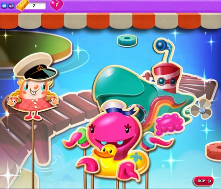 Candy Crush Saga:Dreamworld 126-140