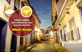 Turismo de Minas Gerais será fortalecido pela aviação regional - Eliseu Padilha
