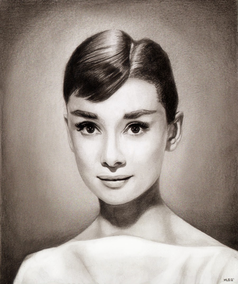 09-Audrey-Hepburn-Martin-Lynch-Smith-MLS-art-Celebrity-Drawings-www-designstack-co
