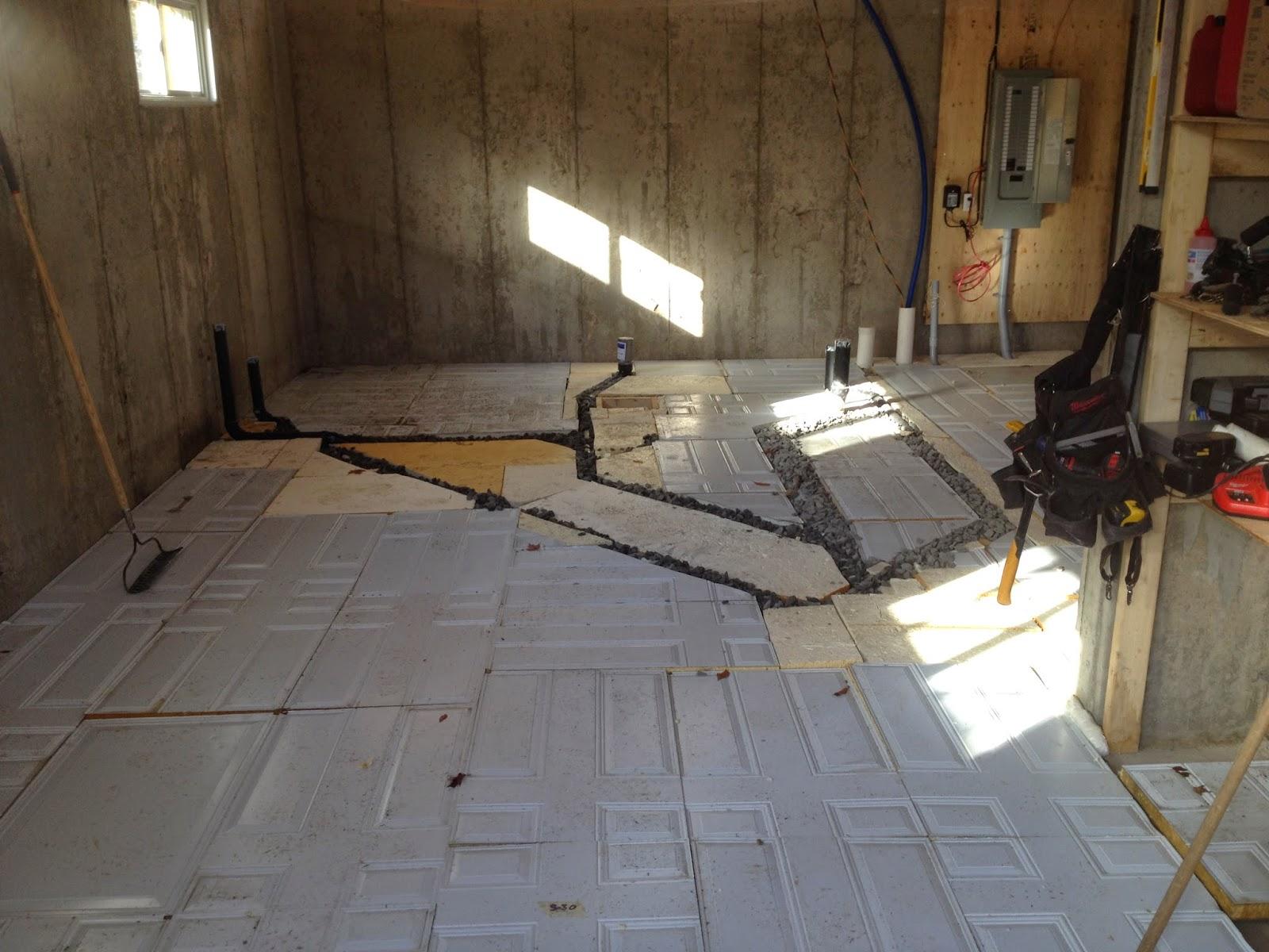 la maison allie une dalle sous nos pieds. Black Bedroom Furniture Sets. Home Design Ideas