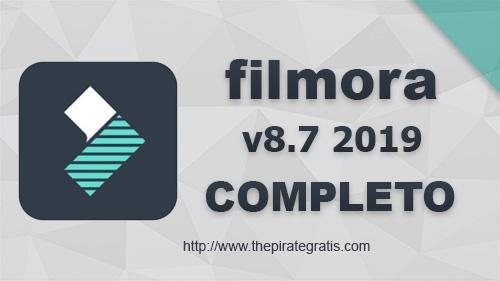 Baixar Filmora 8.7 Completo em Português-BR