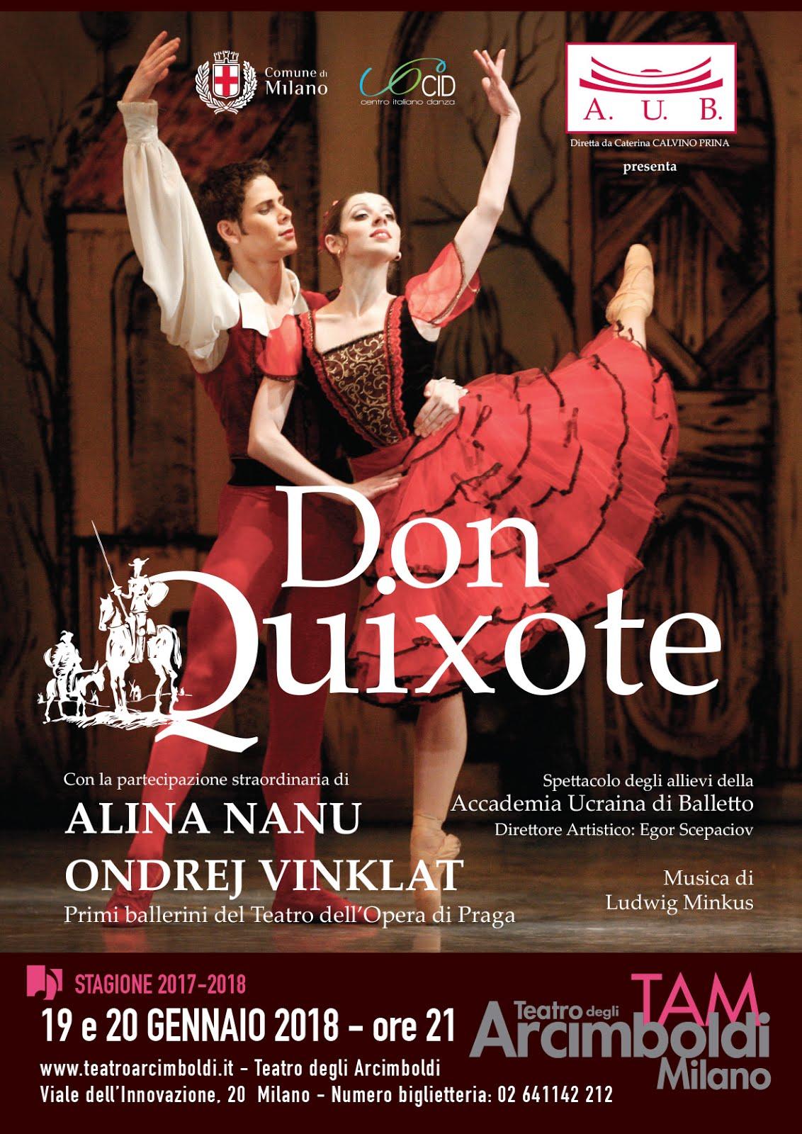 Balletto DON QUIXOTE - ARCIMBOLDI DI MILANO