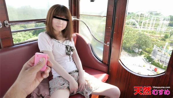 10musume 031815_01  Nishino Nana 飛びっこ散歩 ~観覧車で飛びっこ装着~ 西野奈々