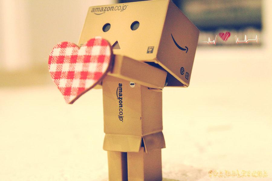 Robots Box I Love You