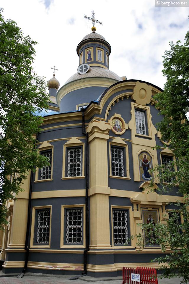 храм святителя николая в троекурово