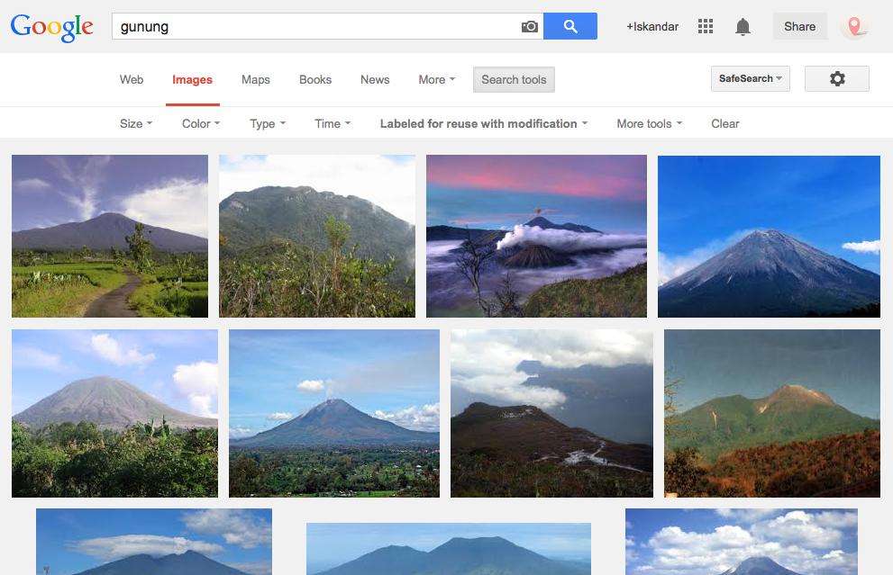 Cara Mendapatkan Gambar Berlisensi Gratis dari Google