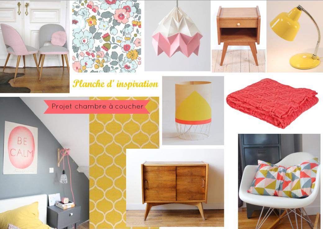 Little Vintage Lovers: Projet chambre à coucher