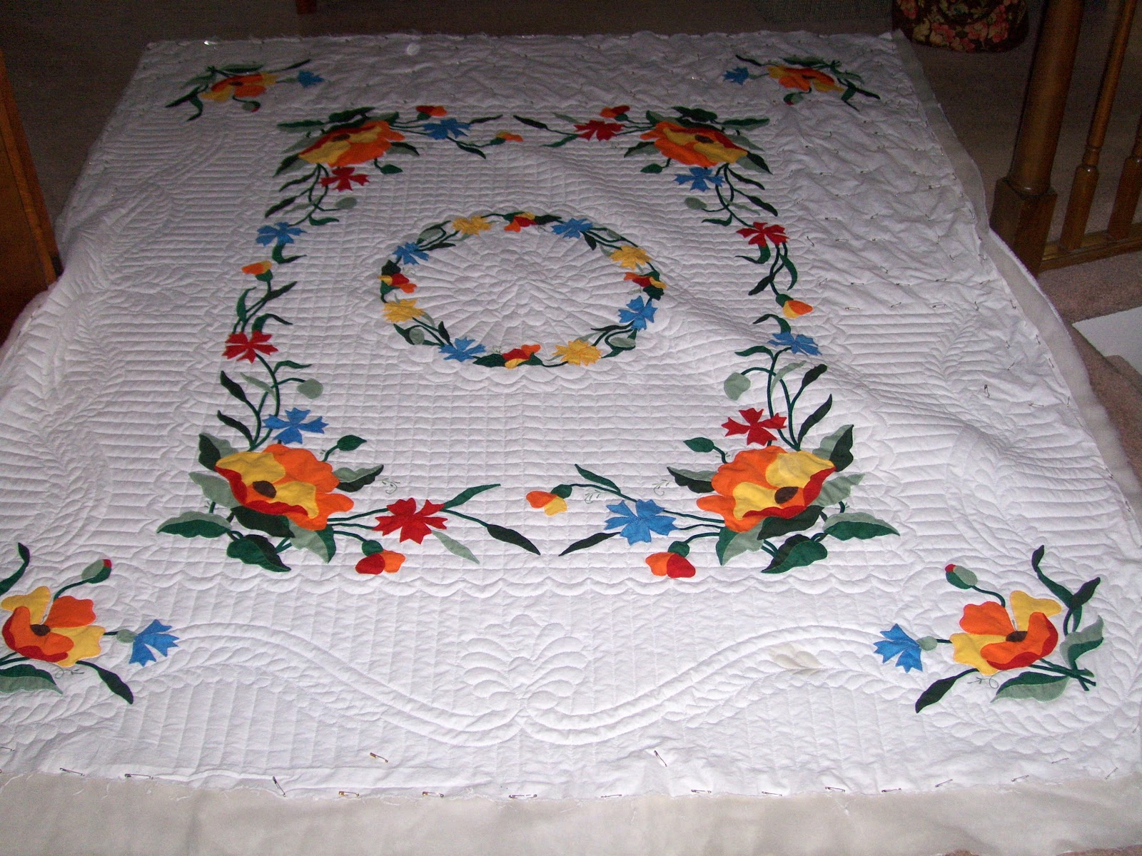 Under quilted covers vintage quilt kit