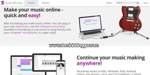 Pon tu voz y crea tu propia musica en Soundtrap