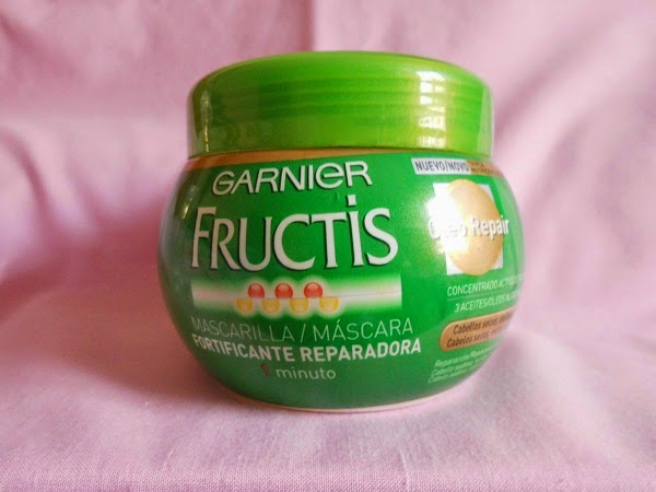 Mascarilla Fructis de Garnier Oleo Repair