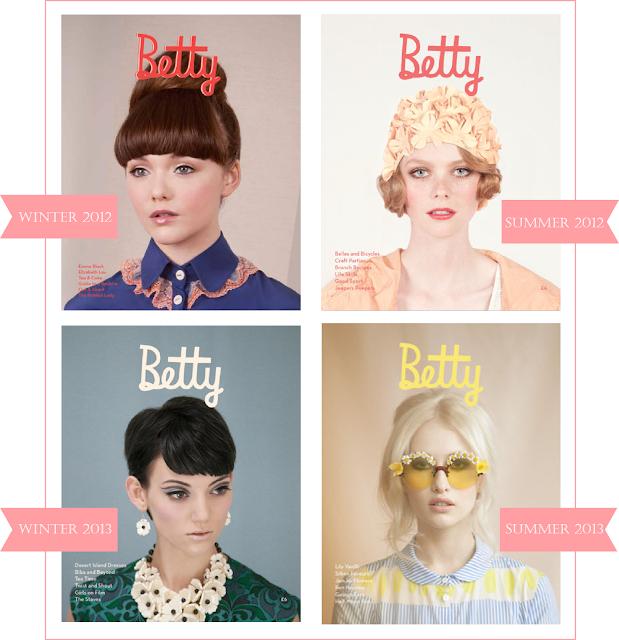 betty magazine I mariana hodges for sparkyourprint.blogspot.com