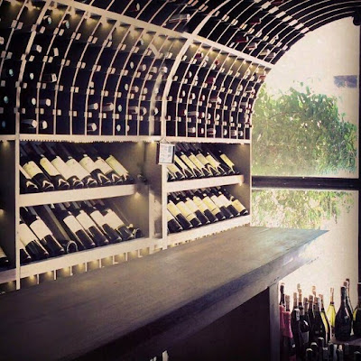 wine library at la vie parisienne cebu