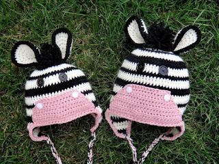 Crochet Pattern Zebra Hat : Grandma Swills Handcrafted Knits: Handmade Crochet Adult ...