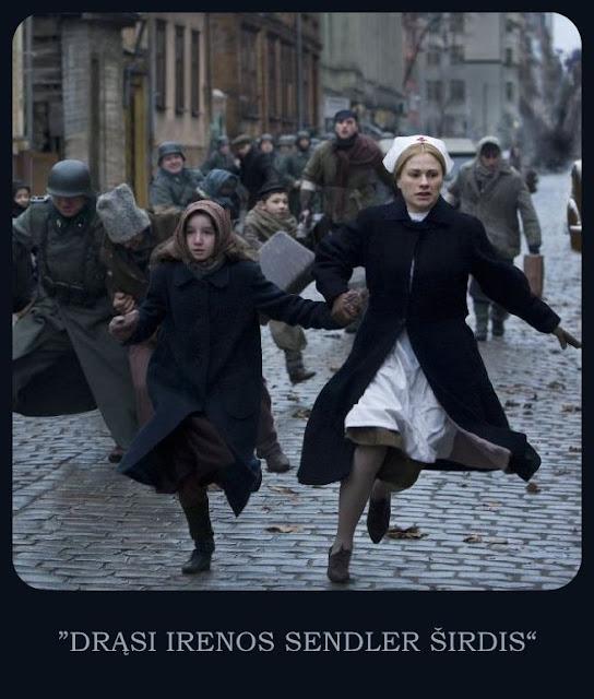 FILMAS - DRĄSI IRENOS SENDLER ŠIRDIS